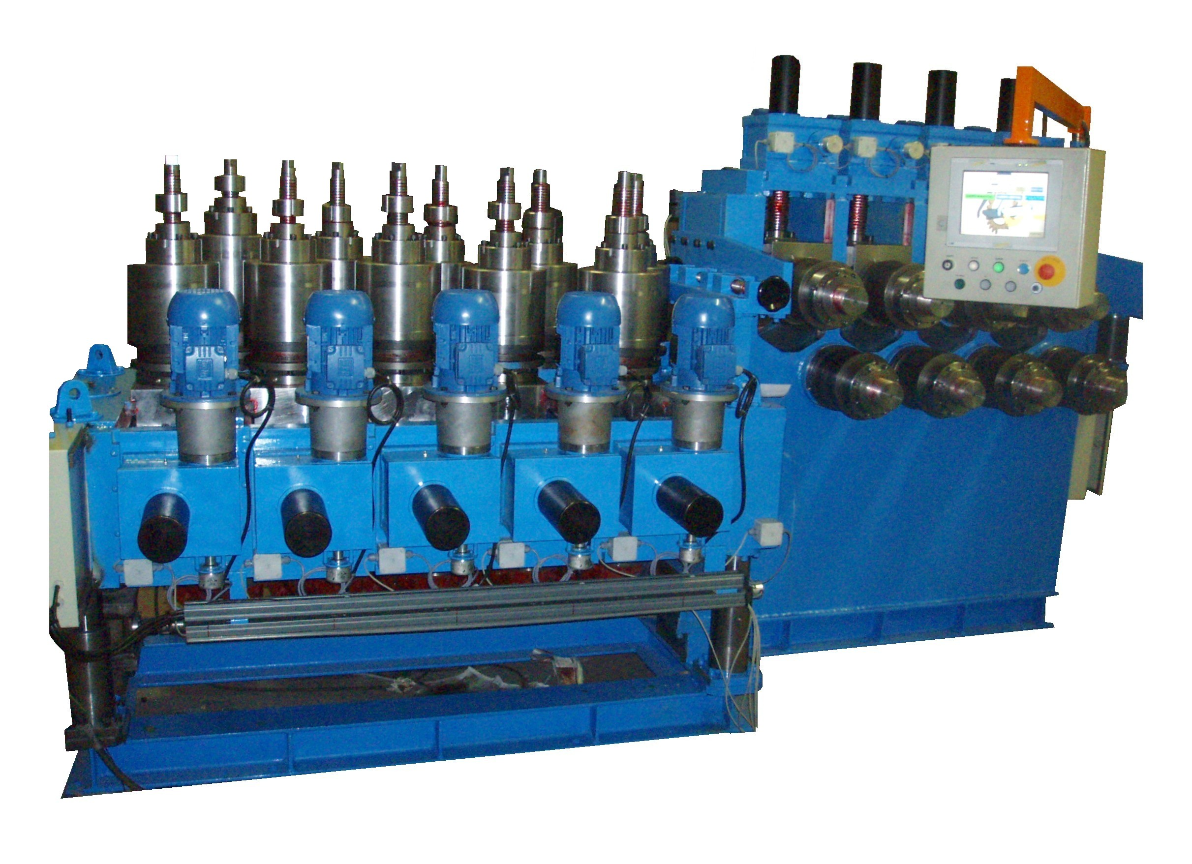 Straightening Machine for Profiles vertical and horizontal