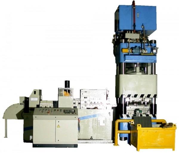 4 columns hydraulic press